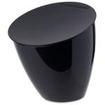 zum Artikel Rosti Mepal Abfallbehälter Calypso schwarz Designmülleimer Küche Bad Abfall Müll