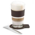 zum Artikel Blomus Desa Design Latte Macchiato Glas mit Untersetzer