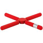 zum Artikel Blomus Knik Design Untersetzer rot Glasuntersetzer Topfuntersetzer Knick