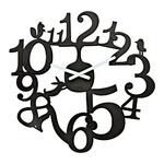 zum Artikel Koziol Wanduhr Zeigeruhr PI:P schwarz Uhr