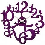 zum Artikel Koziol Wanduhr Zeigeruhr PI:P pflaume violett lila Uhr