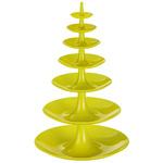 zum Artikel Koziol Babell XL Design Etagere Gebäckschale 7teilig senfgrün senf grün