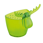 zum Artikel Koziol Rudolf Teesieb Utensilo Tee-Anhänger Teebeutelhalter transparent olivgrün