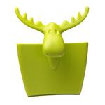 zum Artikel Koziol Rudolf Tassenutensilo Teebeutelhalter Kekshalter senf-grün