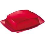 zum Artikel Koziol Design Butterdose RIO transparent himbeer rot