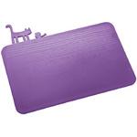 zum Artikel Koziol PI:P malve lila violett - Schneidebrett Frühstücksbrett