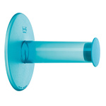 zum Artikel Koziol WC-Rollenhalter Toilettenpapier-Halter Plugn Roll transparent türkis