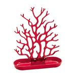 zum Artikel Koziol Cora Schmuckorganizer Schmuckbaum Schmuckständer rot transparent