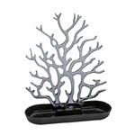 zum Artikel Koziol Cora Schmuckorganizer Schmuckbaum Schmuckständer schwarz transparent