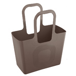 zum Artikel Koziol Tasche XL Design Shopper Handtasche Einkaufstasche Badetasche Tragetasche stone grau braun