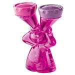 zum Artikel Koziol Luke Kontaktlinsenbox transparent-pink Top Geschenk für Kontaktlinsenträger Lady Prinzessin