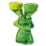 zum Artikel Koziol Luke Kontaktlinsenbox transparent-grün Top Geschenk für Kontaktlinsenträger