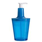 zum Artikel Koziol Design Seifenspender Flow transparent karibikblau blau