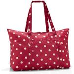 zum Artikel reisenthel mini maxi travelbag rote Punkte / ruby dots - Reisetasche Badetasche