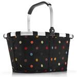 zum Artikel reisenthel carrybag dots farbige Punkte - Design Einkaufskorb Korb