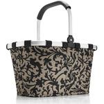 zum Artikel reisenthel carrybag baroque-taupe barock-braungrau Design Einkaufskorb Korb
