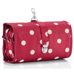 zum Artikel reisenthel wrapcosmetic L rote Punkte / ruby dots Hängekosmetik Kulturtasche Kosmetiktasche