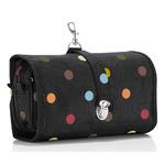 zum Artikel reisenthel wrapcosmetic L farbige Punkte / color dots Hängekosmetik Kulturtasche Kosmetiktasche