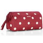 zum Artikel reisenthel travel cosmetic rote Punkte / ruby dots - Kulturtasche Beautycase Kosmetiktasche