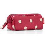 zum Artikel reisenthel travelcosmetic XS rote Punkte / ruby dots - Kulturtasche Beautycase Kosmetiktasche