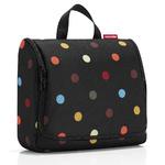 zum Artikel reisenthel toiletbag XL Kulturtasche Kulturbeutel XL-Beautycase farbige Punkte / color dots