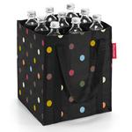zum Artikel reisenthel bottlebag farbige Punkte / color dots - Flaschenkorb Flaschentasche