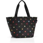 zum Artikel reisenthel shopper M farbige Punkte / color dots Einkaufstasche