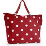 zum Artikel reisenthel shopper XL Einkaufstasche rote Punkte / ruby dots